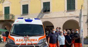 Inaugurata a Bogliasco una nuova ambulanza