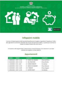 Al via l'Infopoint mobile del Comune di Genova