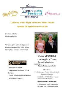 Concerto per Dante a Genova