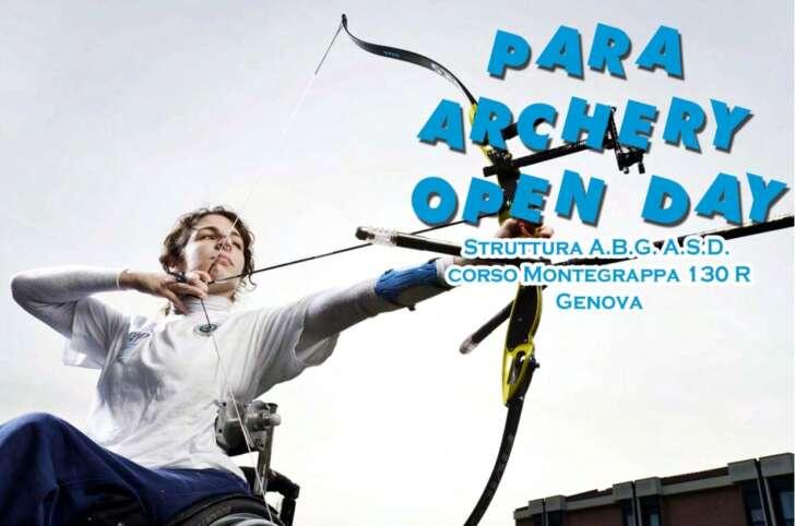 Al via il Para archery open day