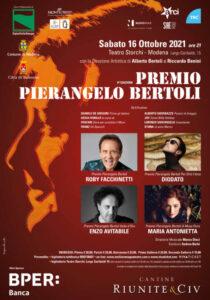 Premio Pierangelo Bertoli a Roby Facchinetti