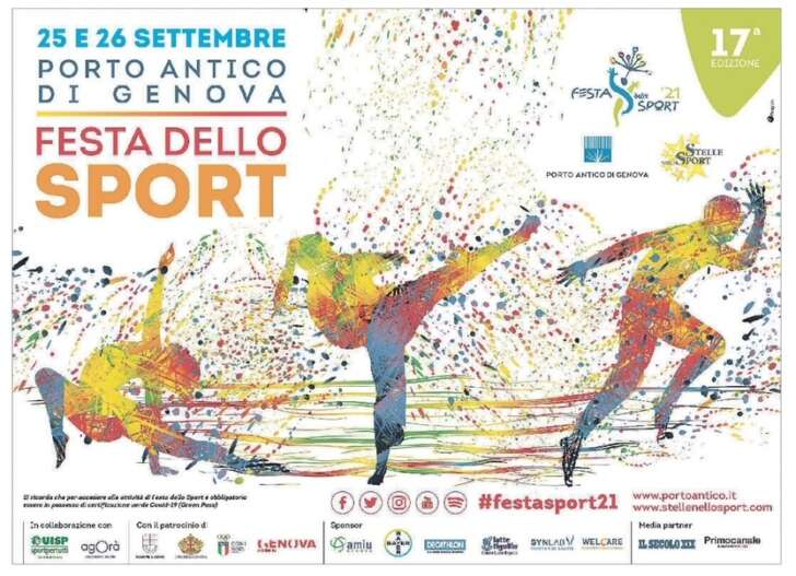 Porto Antico di Genova, Festa dello Sport 2021