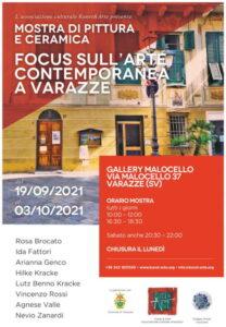 Mostra di pittura e ceramica a Varazze