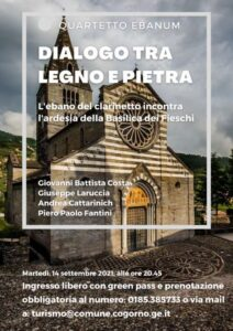 A Cogorno il concerto del Quartetto Ebanum