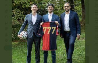Ecco la prima foto del nuovo proprietario del Genoa: 777 Partners