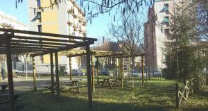 Lavori pubblici ai giardini di Pontedecimo