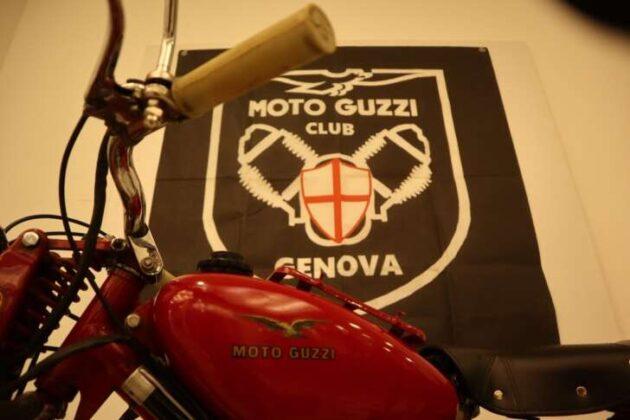 Il Moto Guzzi Club Genova e Poste Italiane per il centenario