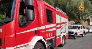 Montemarcello, due i soccorsi dei VVF e del Soccorso Alpino