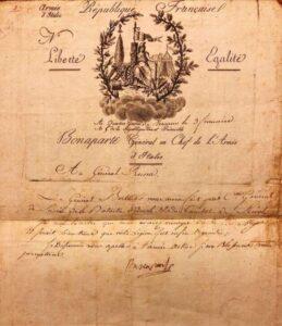 A Chiavari in mostra autografi di Napoleone