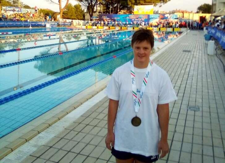 Liguria sul podio nel nuoto paralimpico