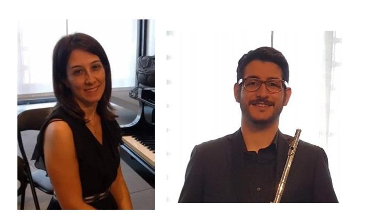 Il Duo Cagno in concerto a Sarissola