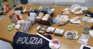 Stupefacente e denaro in un bar di via Fereggiano: arrestato cinese
