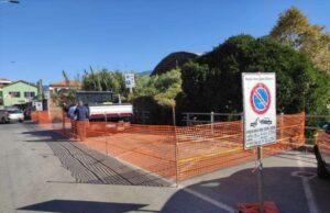 Chiavari, Partiti i lavori per il nuovo parcheggio in via Parma