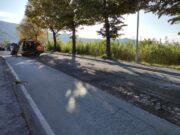 Chiavari, lavori in corso e Asfalti in via Parma