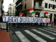 Trieste chiama, La Spezia risponde   Manifestazione contro il Green pass