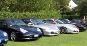 Sfilata di Porsche ad Alassio