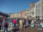 No Green pass | 14esimo sabato di manifestazione a Genova