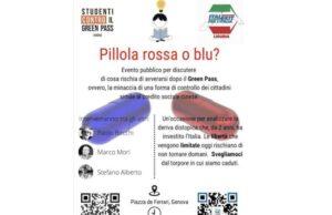 Pillola rossa o blu? | Incontro degli studenti genovesi sul dopo Green Pass