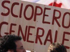 Sciopero generale FISI dal 15 al 20 ottobre, protesta fino al 31 dicembre