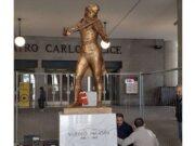 Paganini torna a Genova, inaugurazione statua al Carlo Felice con Sgarbi